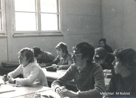 Classe de neige 1975